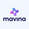 mavina logo en bedrijfsnaam goedkoop kopen